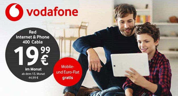 Vodafone Red Internet & Phone Cable bei modeo