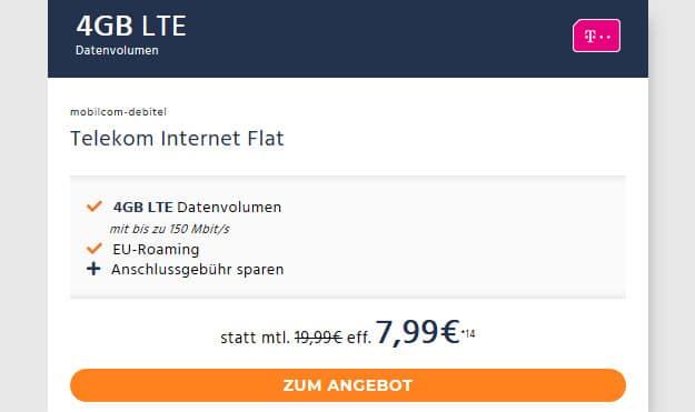 4 gb lte telekomnetz