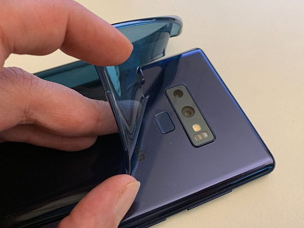 Artwizz Zubehör Galaxy Note 9 Test