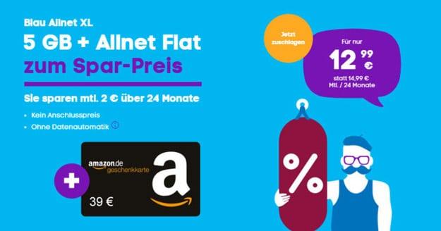 Blau Allnet XL (SIM-only)