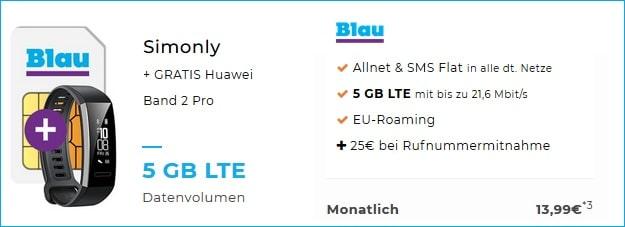 blau xl band 2 pro