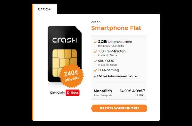 crash Smartphone Flat