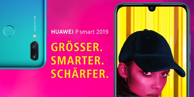 Huawei P Smart (2019) + otelo Allnet-Flat Classic bei Handyflash