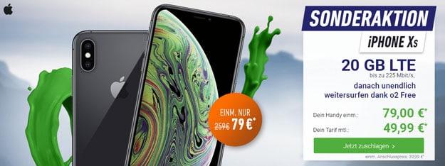 iPhone Xs + o2 Free M Boost
