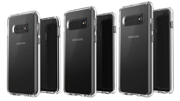 Samsung Galaxy S10, S10 Plus und S10 Mini / E samt Hülle