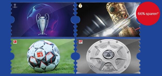 Fußball Bundesliga Rückrunde mit dem Sky Supersport Ticket
