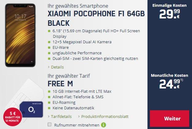 xiaomi pocophone f1 + o2 free m md
