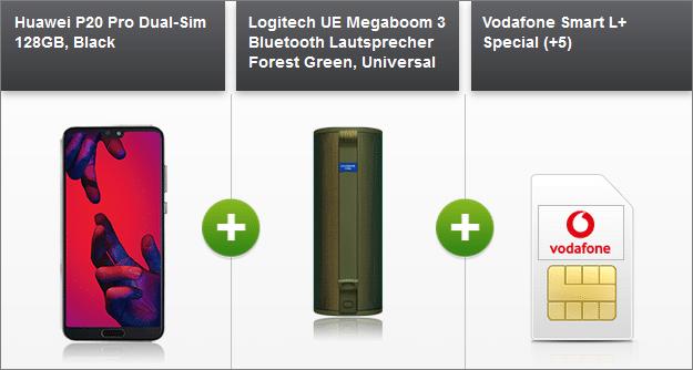 Huawei P20 Pro + Vodafone Smart L Plus