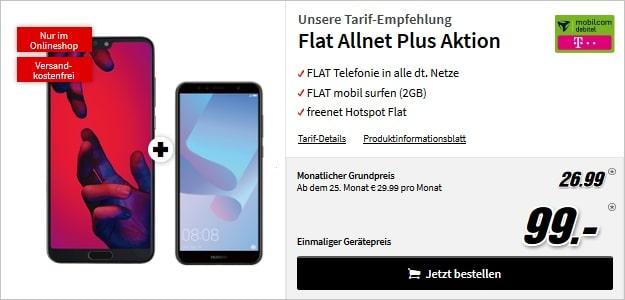 Huawei P20 Pro + md Flat Allnet Comfort