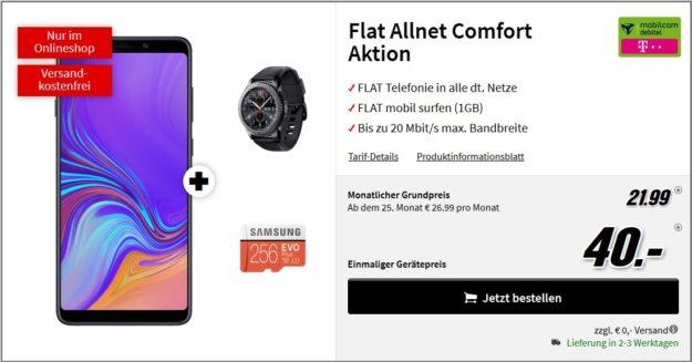 SAMSUNG Galaxy A9 gear flat allnet comfort