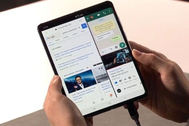 Samsung Galaxy Fold mit Vertrag, Test, Specs, Einschätzung