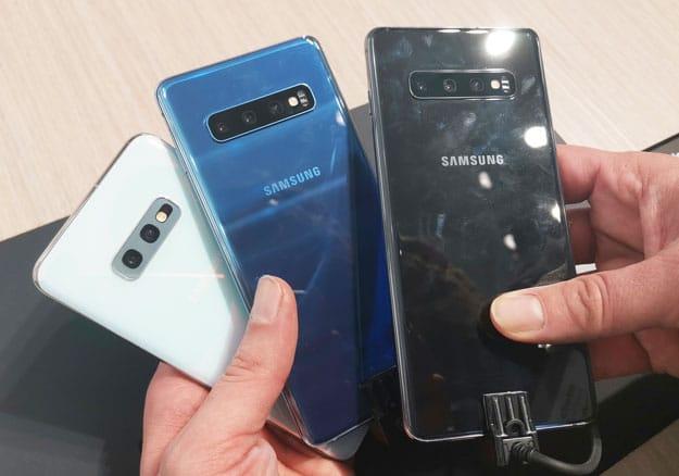 Samsung Galaxy S10, Galaxy S10 Plus & Galaxy S10e im Vergleich: So unterscheiden sich die Modelle