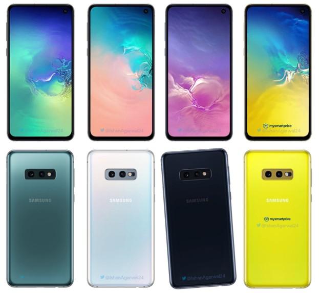 Samsung Galaxy S10e Farben