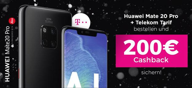 Huawei Mate 20 Pro + Telekom Magenta Mobil M bei Handyflash