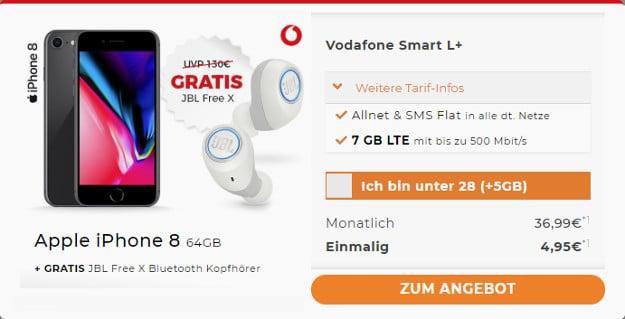 iphone 8 + smart l plus