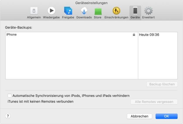 Smartphone-Wechsel von iOS zu iOS