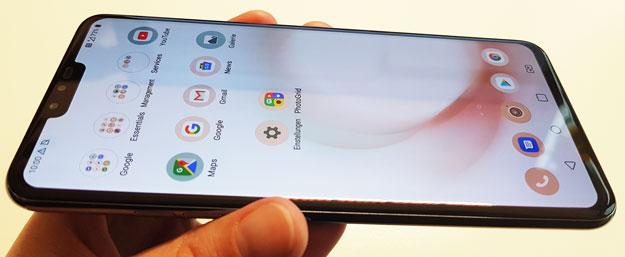 LG V40 ThinQ Test: 5 Augen sehen besser - tolle Knipse, starke Leistung, strammer Preis
