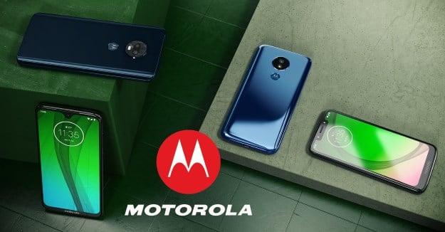 Motorola Moto G7 Modellfamilie
