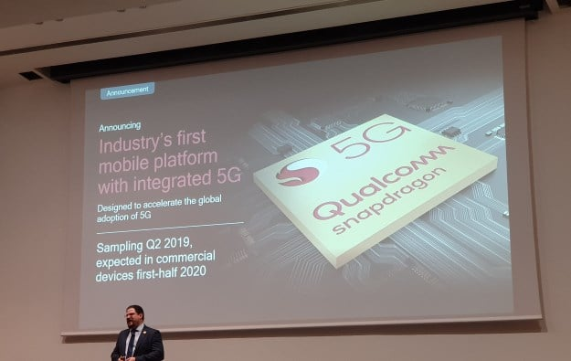 Qualcomm MWC 2019 mit 5G Chipset