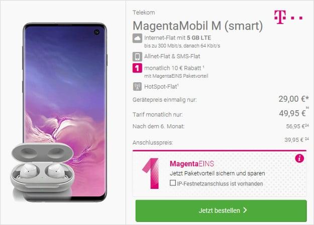 s10 + telekom magenta mobil m