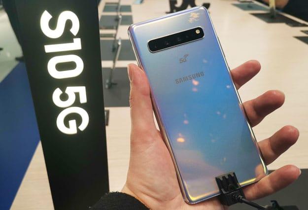Samsung Galaxy S10 5G im Hands-on: Highlight mit 6,7-Zoll-Display ausprobiert