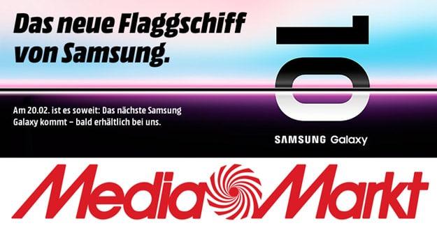 Samsung Galaxy S10 und S10 Plus bei MediaMarkt