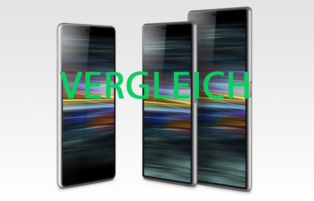 MWC19 Sony Xperia 1, Xperia 10, Xperia 10 Plus & Xperia L3 im Vergleich: Android-Smartphone mit Klasse für jeden Nutzertyp