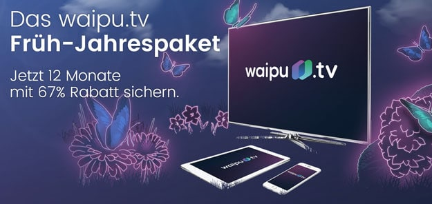 waiput.tv Früh-Jahrespaket