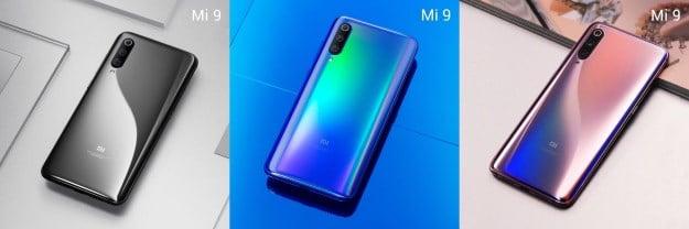 Das Xiaomi Mi 9 wird farbenfroh und mystisch (Bild: Xiaomi, Bearbeitung: handyhase.de)
