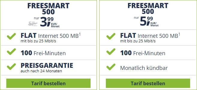 freesmart 500 banner