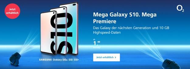 Samsung Galaxy S10, S10 Plus & S10e bei o2: Bestes Preis-Leistungs-Verhältnis bei den Netzbetreibern?