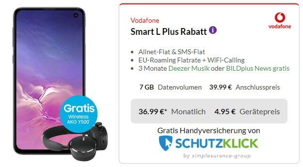 Samsung Galaxy S10e + Vodafone Smart L Plus bei Preisboerse24
