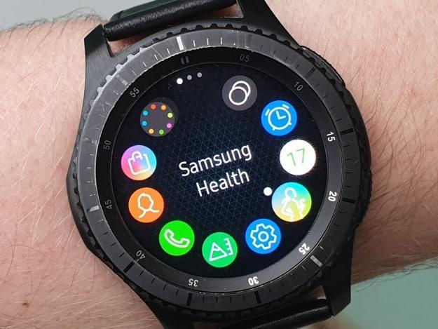 Samsung Gear S3 frontier Test