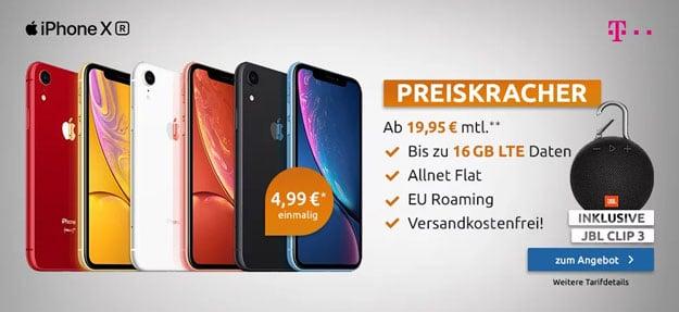 iPhone Xr + Telekom Magenta Mobil M bei LogiTel