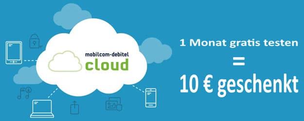 mobilcom-debitel cloud Pro mit 10 € Gewinn bei modeo