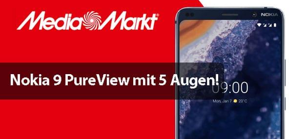 Nokia 9 PureView vs Samsung Galaxy S10, Huawei P30 & Xiaomi Mi 9 im Vergleich: Mit 5 Augen gegen die Konkurrenz