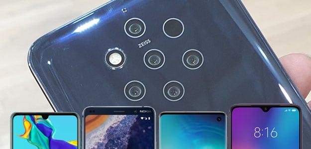 Nokia 9 PureView vs. Samsung Galaxy S10, Huawei P30 und Xiaomi Mi 9