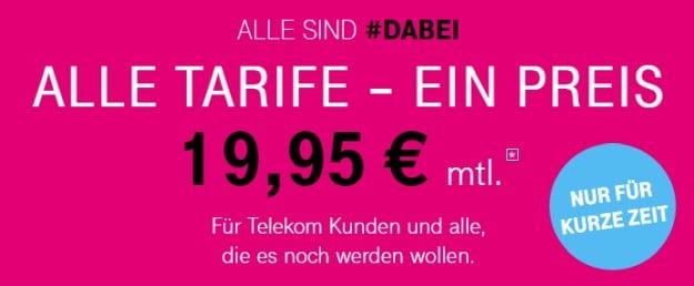 Telekom Tarif-Aktion #dabei