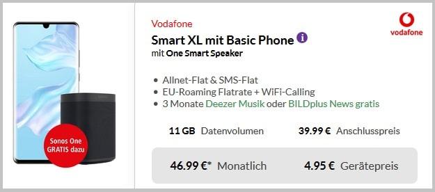 Huawei P30 Pro + Vodafone Smart XL Pb24 mit Powerbank