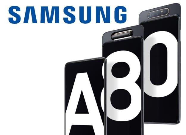 Samsung Galaxy A80 mit Vertrag: Preis, Specs, & Test - Ausfahrbare Triple-Kamera und In-Display-Fingerabdrucksensor