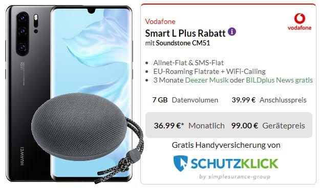 Huawei P30 Pro + Huawei SoundStone CM51 + Vodafone Smart L Plus bei Preisboerse24