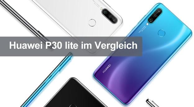 Huawei P30 lite im Vergleich: Gegen Honor 10 lite, Mate 20 lite, Samsung Galaxy A50 & Moto Z3 Play - neuer König in der Mittelklasse?