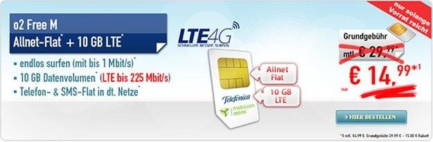 mobilcom-debitel Free M (SIM-only) bei Handybude