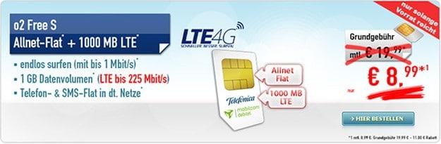 mobilcom-debitel Free S (SIM-only) bei Handybude