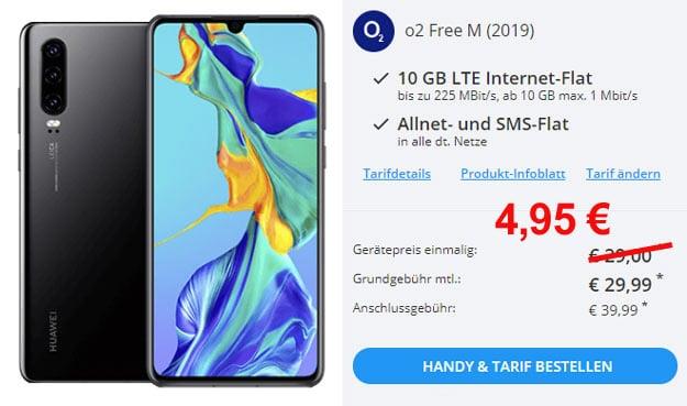 Huawei P30 + o2 Free M