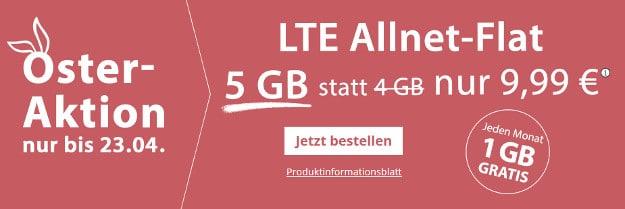 premiumsim ostern 5 gb lte