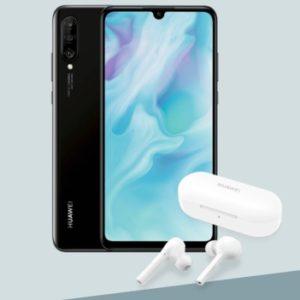 Huawei P30 Lite + In-Ear-Kopfhörer