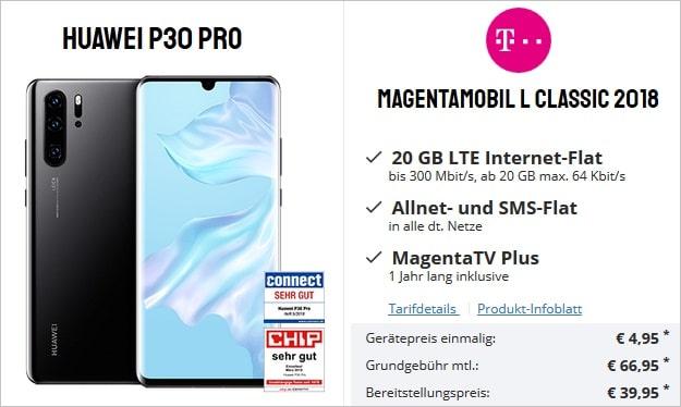 Huawei P30 Pro + Telekom Magenta Mobil L