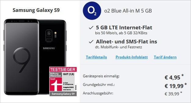 Samsung Galaxy S9 + o2 Blue All-In M