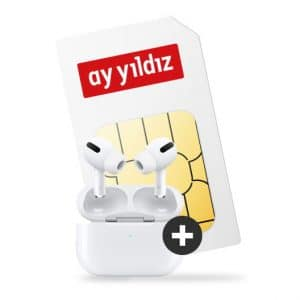 Ay Yildiz Ay Allnet Flat Max + Apple AirPods Pro Thumbnail